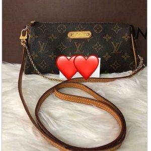 Authentic Louis Vuitton Eva Monogram...